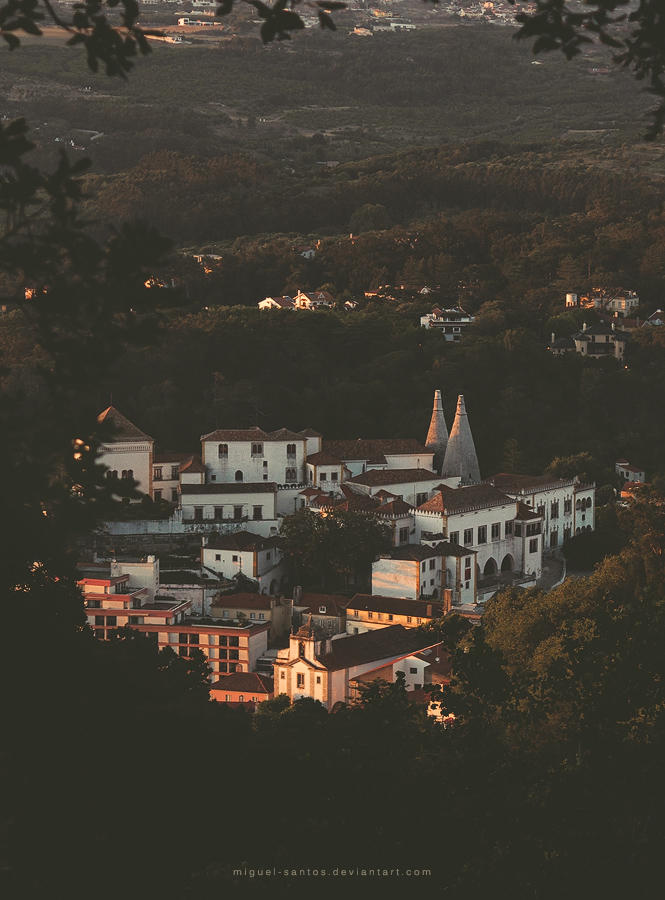 Little Forest Town by Miguel-Santos