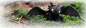 Toothless Plush Pattern - For Sale! by munchforlunch