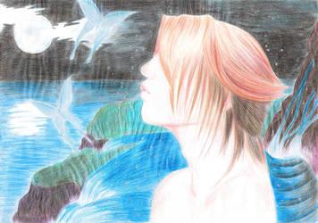 Blue Butterfly, the inner Soul by YinYangOkami