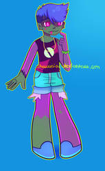 [Request] Zombie Girl by Shawasia
