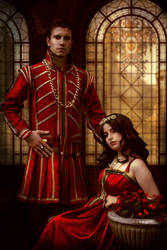 -The Tudors-  Anne Boleyn and King Henry by yaseminkaraca