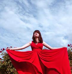 Red Wind by yaseminkaraca