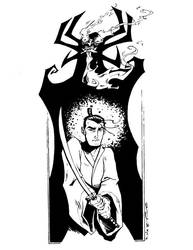 Samurai Jack Inks by Egghead-RJThompson