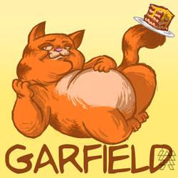 Garfield by Egghead-RJThompson