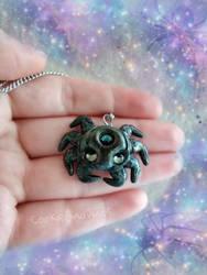 Spider Necklace by CookieAndDinos
