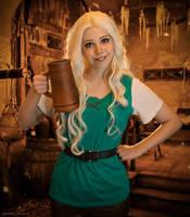 Princess Bean Disenchantment cosplay by EnotArt