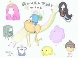 Adventure Time by Filatura