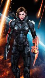 Commander Milla Shepard by jocachi by hailtotheking