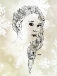 Elsa - Frozen / La Reine des Neiges by Kailyce