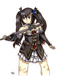 Noire [Neptunia] by Kailyce