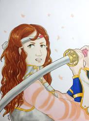 Fanart Hana - Fire Emblem Fates by Kailyce