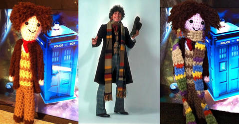 Dr Who No. 4 - Tom Baker by smapte