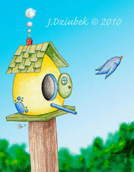 EggHouse by FroggFire