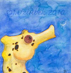Grubbin' SeaHorse by FroggFire