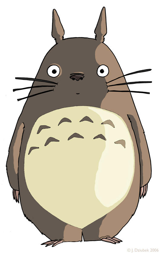 Totoro by FroggFire