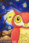 Red Owl Skyline by FroggFire