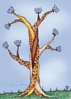Twisty Tree by FroggFire