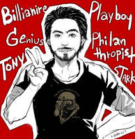 Genius, Billionaire, Playboy, Philanthropist by Kadeart0