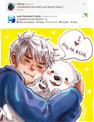 Jack loves polar bear by Kadeart0