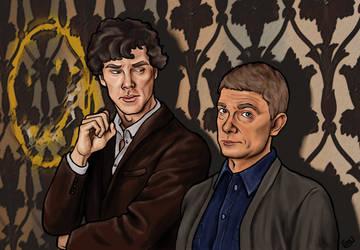 Sherlock by tlouey
