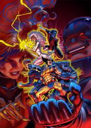 X-MEN Animated Vol. 3 Box Art by DNA-1
