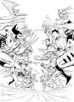 X-MEN Versus by DNA-1