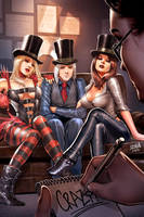 Wonderland Asylum #3 Cover by DNA-1