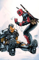 Deadpool #36 Cover by DNA-1