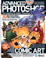 Advanced Photoshop Magazine #126 Cover by DNA-1