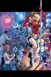 City of Heroes No. 18 Cover by DNA-1