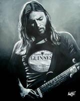 David Gilmour by ZomBieTOmmm
