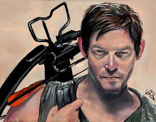 Daryl Dixon by ZomBieTOmmm