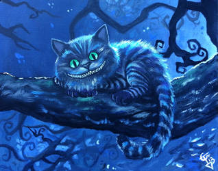 Cheshire Cat by ZomBieTOmmm