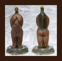 Clay Goddess Figurine by RowanSong