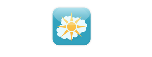 how IOS7 weather icon should be look like by enemia
