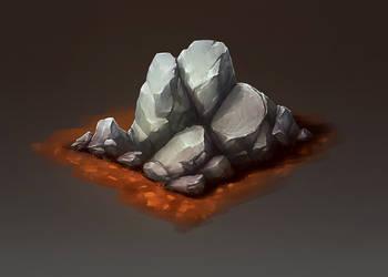 Isometric Stone by L1nkoln