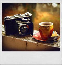 Coffee Break in the past by ValentinaKallias
