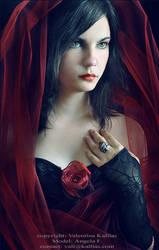 -  Angela - Red Bride by ValentinaKallias