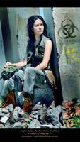Postapocalyptic 5 - Angela by ValentinaKallias