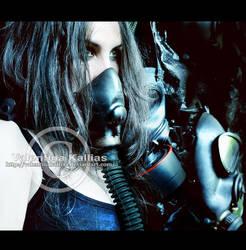 The gasmask Merchant by ValentinaKallias