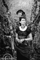 Ludivine - BW by ValentinaKallias