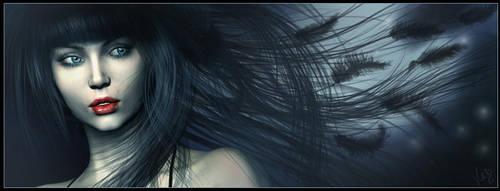 Night of the Raven by ValentinaKallias