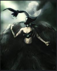 Lady Raven by ValentinaKallias