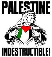 Palestine Indestructible by Latuff2