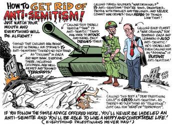 Get rid of Anti-Semitism by Latuff2