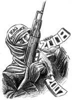 Struggle goes on by Latuff2