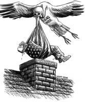 Iraq War stork by Latuff2