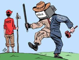 Criminalization of the MST 1 by Latuff2
