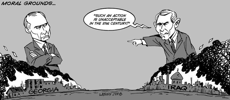 Russia Georgia conflict 5 by Latuff2