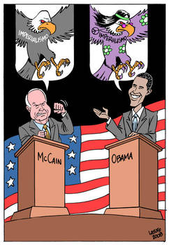 U.S. presidential race by Latuff2